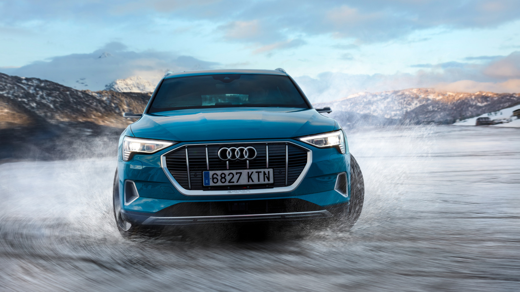 Audi E-Tron winter Barcelona to Baqueira Beret spread 4