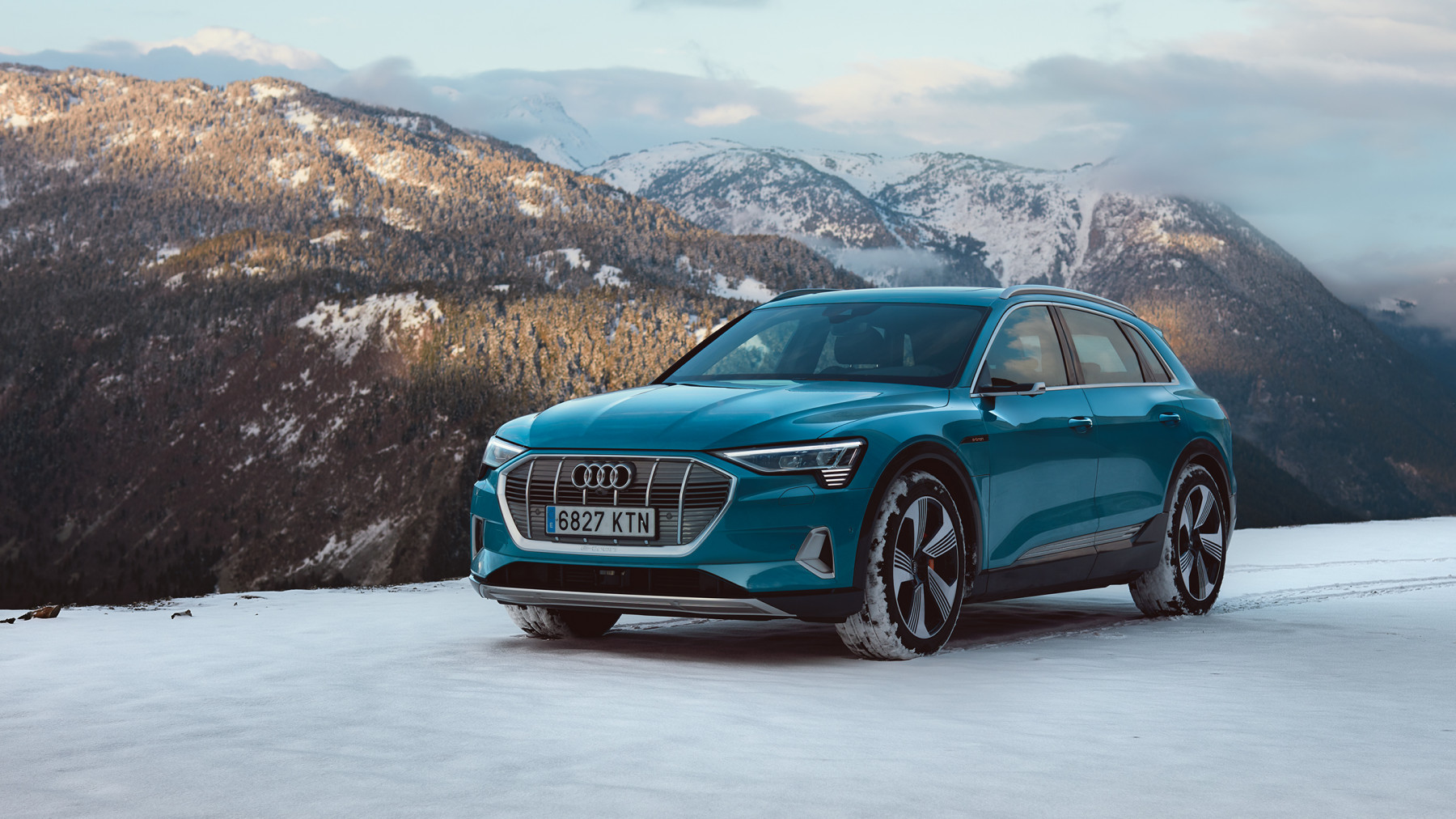 Audi E-Tron winter Barcelona to Baqueira Beret spread 7
