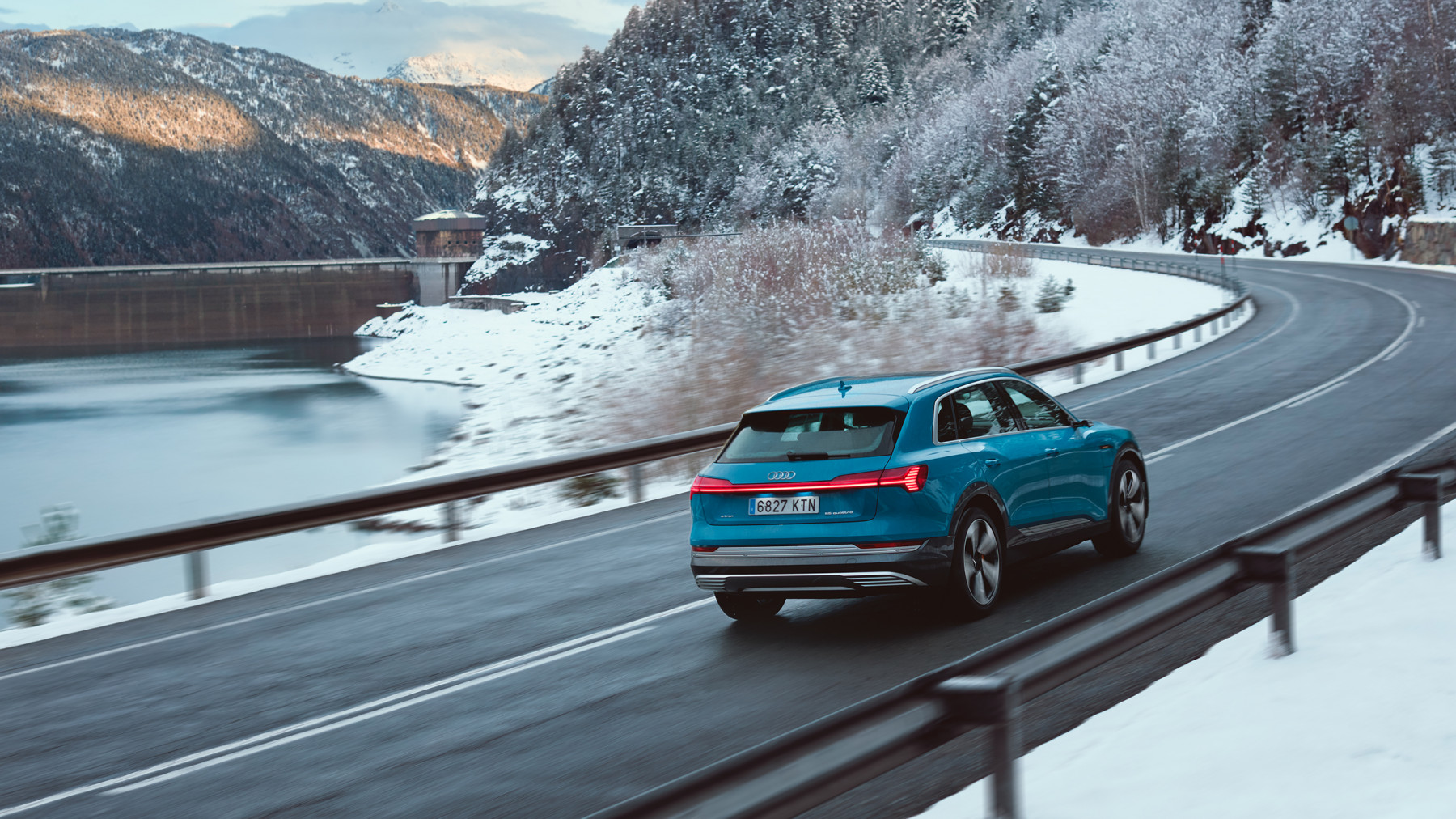 Audi E-Tron winter Barcelona to Baqueira Beret spread 6