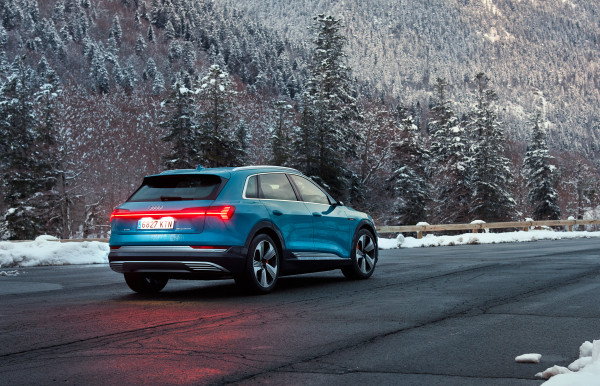 The new Audi E-Tron 6